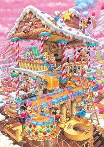 ジグソーパズル 266ピース ディズニー おかしなおかしの家 ぎゅっとシリーズ ピュアホワイト (18.2x25.7cm) (DPG-266-574) テンヨー 梱60cm t104