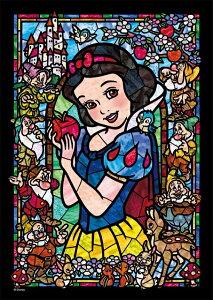 ジグソーパズル 266ピース ディズニー プリンセス 白雪姫 ステンドグラス ぎゅっとシリーズ ステンドアート (18.2x25.7cm) (DSG-266-957) テンヨー 梱60cm t107