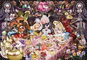 【在庫あり】ジグソーパズル 1000ピース ディズニー ふしぎの国のアリス 醒めない夢のティーパーティー(51x73.5cm) (D-1000-495) テンヨー 梱80cm t102