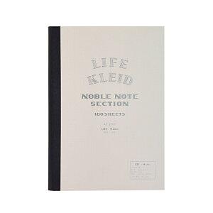 【在庫あり】ネコポス_何点でも全国一律190円 Noble note ノーブルノート A5 White LIFE×kleid No.8961(8962) 新日本カレンダー t100