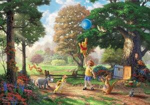 【在庫あり】ジグソーパズル 1000ピース ディズニー くまのプーさん Winnie The Pooh II スペシャルアートコレクション (51x73.5cm)(D-1000-030) テンヨー 梱80cm t105