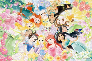 ジグソーパズル 1000ピース ディズニー プリンセス Floral Dream (フローラル・ドリーム) パズルデコレーション(50x75cm) (97-001) エポック社 梱80cm t101