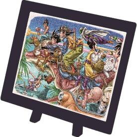 【在庫あり】ジグソーパズル 150ピース ドラゴンボール ゴーゴーパラダイス まめパズル フレームセット(7.6×10.2cm)(MA-21) エンスカイ 梱60cm t101