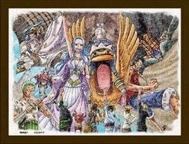 ジグソーパズル 150ピース ワンピース 砂漠の王国アラバスタ まめパズル フレームセット(7.6×10.2cm)(MA-24) エンスカイ 梱60cm t101