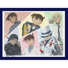 【あす楽】ジグソーパズル 150ピース 名探偵コナン 6人のヒーローたち まめパズル フレームセット(7.6×10.2cm)(MA-32) エンスカイ 梱60cm t101