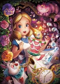 【在庫あり】ジグソーパズル 500ピース ディズニー きらめく夢の中で(アリス) 【光るパズル】 (35x49cm)(D-500-491) テンヨー 梱60cm t100
