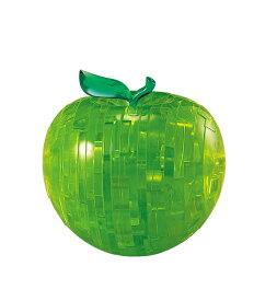 ジグソーパズル 44ピース クリスタルパズル グリーン アップル(50239) ビバリー 梱60cm t103