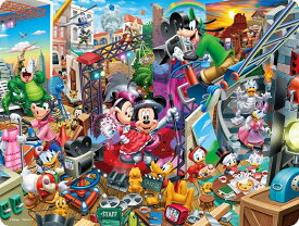 【あす楽】ジグソーパズル 99ピース3Dマジック ディズニー ミッキーのムービースタジオ (DL-99-698)(DL-99-698) テンヨー 梱60cm t103