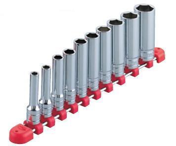 送料無料 【KTC工具】21C-【KTC工具】 3/8 (9.5sq ) 6角 ディープソケッ-ホルダー付きセット(11点7mm〜22mm) /TB3L10