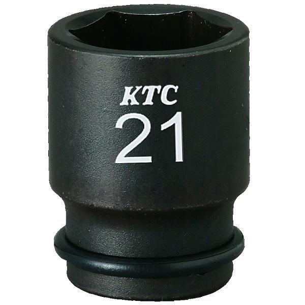 "【KTC工具】 3/8"" 9.5sq 6角 インパクトレンチ用ソケット (セミディープ薄肉・ ピン・リング付: 7mm 〜 12mm ) / BP3M-07TP 〜 BP3M-12TP  8640円以上で送料無料"