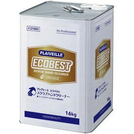 業務用手洗い洗剤 スクラブハンドソープ プレヴェーユ エコベスト 16kg コスモビューティー 21003 ( 旧 アロエストスーパーマイルドS 10044)  10800円以上で送料無料