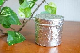 アロマキャンドル アルミ製 (丸型) 香り付 ろうそく ローソク アジアン バリ 雑貨