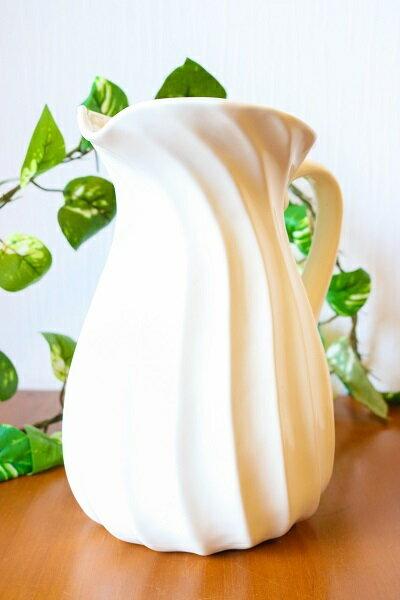 ミルクポット 白 【JENGGALA KERAMIK】 ジェンガラケラミック 食器 アジアン バリ