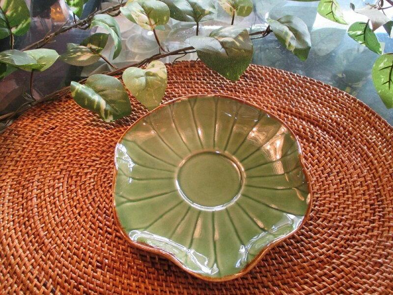 ロータスミニプレート 【JENGGALA KERAMIK】 ジェンガラケラミック 食器 小皿 アジアン バリ