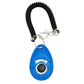 STRAZAR 犬猫用 クリッカー (ブルー)