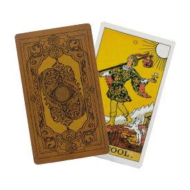 【送料無料】タロットカード ライダー ウェイト版 Tarot Deck (スタンダードサイズ 12cm * 7cm, 78枚フルセット) 美しいオリジナル背表紙デザイン