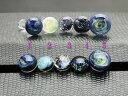 ガラスボディピアス ラウンド サイズパイレックスガラス