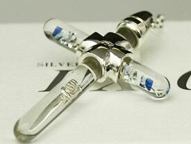 PX-G Silver Cross L Pendant シルバーガラスアクセサリー クロスペンダント ラージサイズMADE IN JAPAN
