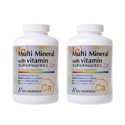 ニューサイエンス/マルチミネラルビタミン/180カプセル×2個セット/バイオアイデンティカル製法/ミネラルビタミン/葉酸/セレン/マグネシウム/マルチビタミン