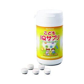 森川健康堂 こどもIQサプリ 90粒 【DHA IQサプリ ノンシュガー 健康補助食品 ブドウ味 受験 GABA 天然アミノ酸】