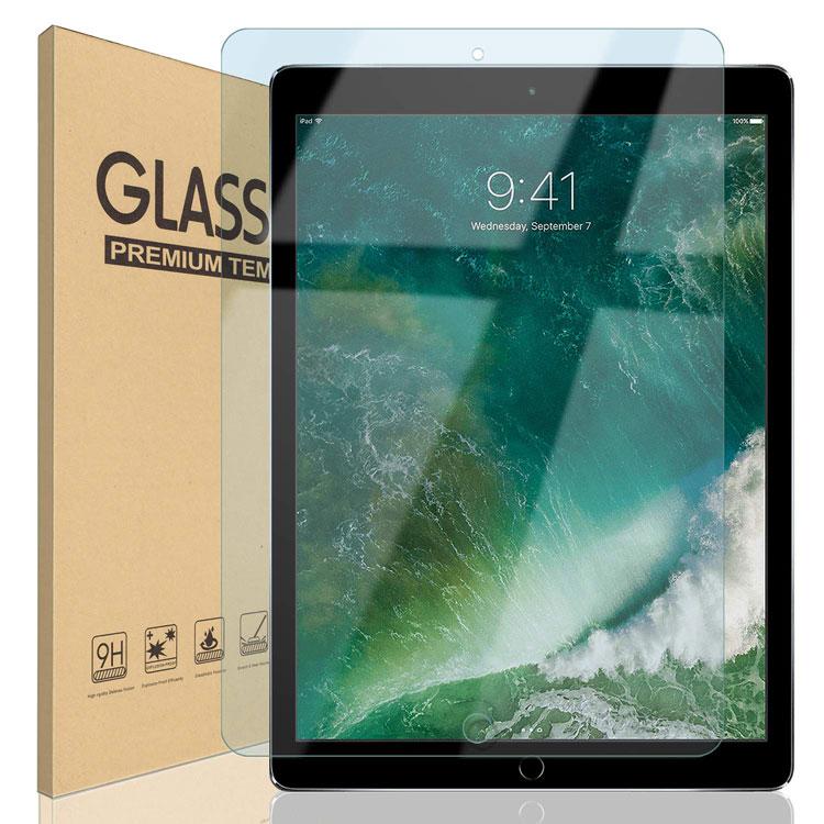 iPad 9.7 10.5 12.9 ブルーライトカット ガラスフィルム Pro 12.9 (2015/2017) 10.5(Air 2019 / Pro 2017) iPad 9.7 インチ(2018/2017/Pro/Air2/Air) フィルム 保護フィルム 液晶保護フィルム 日本製ガラス 強化ガラス 硬度9H 18カ月保証 ゆうパケット
