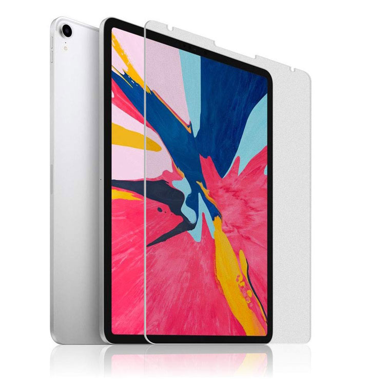 iPad Pro 12.9インチ フィルム 2018 最新型 アンチグレア 液晶保護フィルム 指紋防止 気泡防止 日本製 9H 2.5D 【FACE ID完全対応】ゆうパケット