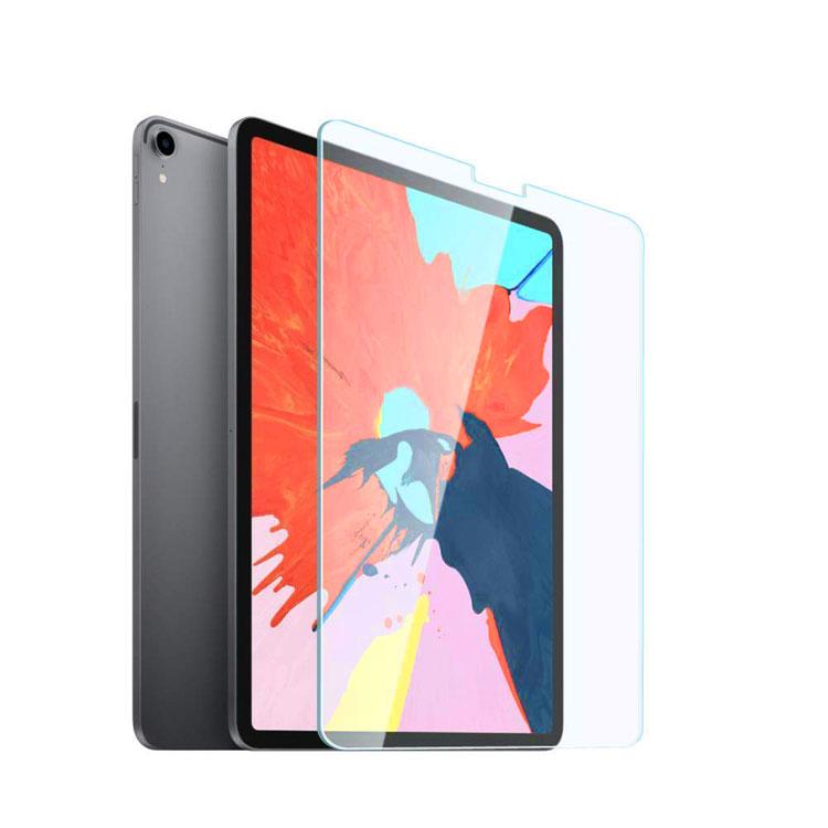 iPad Pro 11インチ ガラスフィルム 12.9インチ フィルム 2018 最新型 ブルーライトカット 液晶保護フィルム 指紋防止 気泡防止 日本製 9H 2.5D 【FACE ID完全対応】ゆうパケット