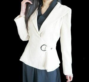 【送料無料】エレガントリッチな立て襟とても素敵な上質コートウエストベルト洗練されたデザインミディアムアウター秋冬コート大きな襟で小顔効果シルエット綺麗細く見える着痩せ効果黒