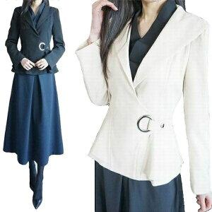 エレガントな立て襟フレアデザインがキュートなシルエット綺麗なワンピースコート