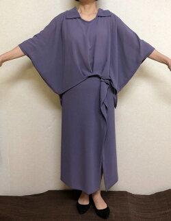 【大きいサイズ/日本製/送料無料】女性の味方ツーピース1着限定ゆったりサイズ大きいサイズ40代.50代.60代.70代個性派シニアミセスレディースファッション