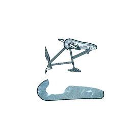 【4月1日限定★エントリーでポイント最大10倍】MARUTO (マルト/大久保製作所) Chain Cover (チェーンカバー) MARUTO-RS-C750 [エンド金具] [輪行] [カバー]