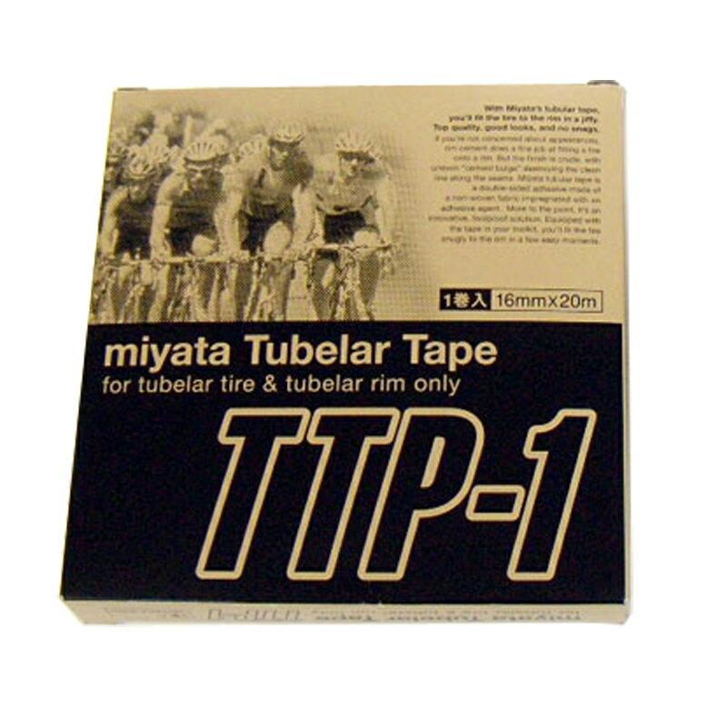 MIYATA (ミヤタ) TTP-1 Tubular Tape (チューブラーテープ) 16mm×20m[リムセメント・テープ][アクセサリー][ホイール]