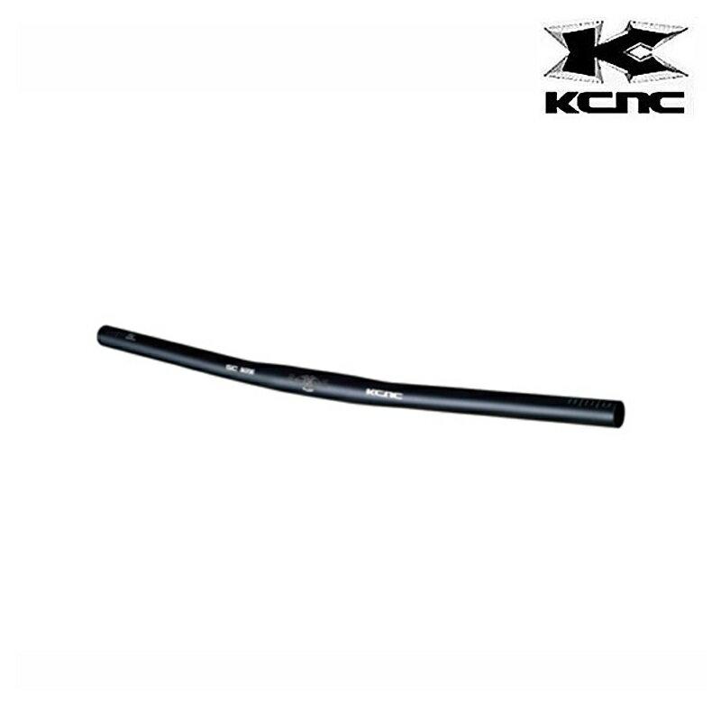 KCNC (ケーシーエヌシー) SC BONE FLAT (エスシーボーンフラット) 25.4mm/600mm バックスイープ8°[ハンドル・ステム・ヘッド][MTB/クロスバイク用][ストレートハンドルバー]