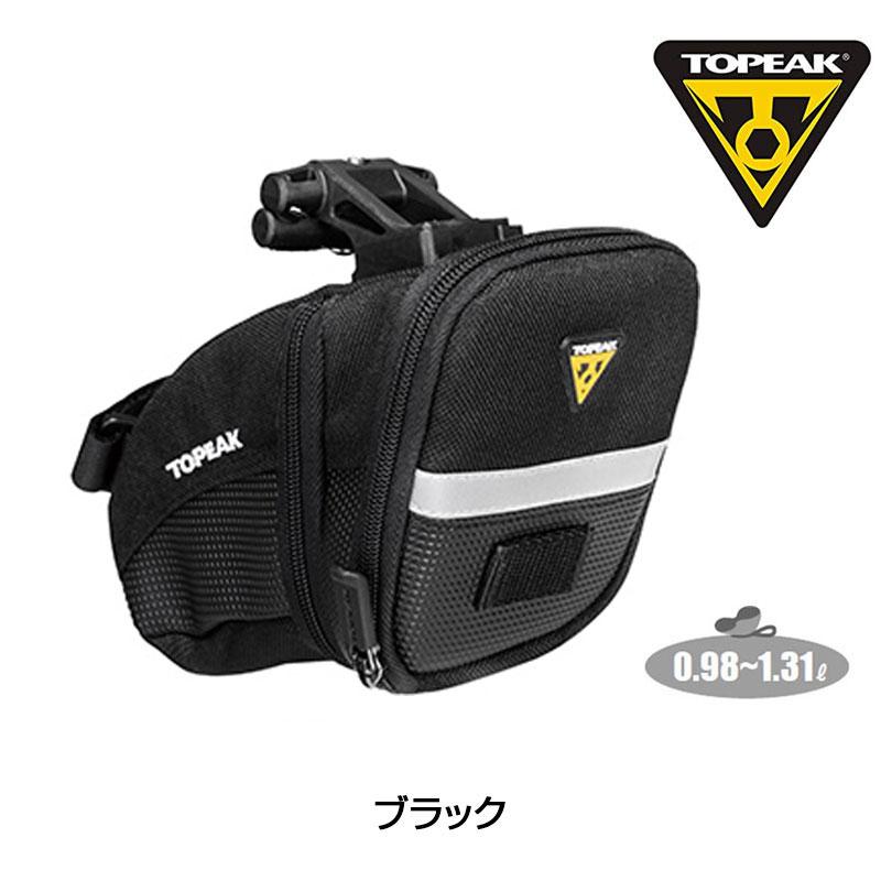 TOPEAK AeroWedgePack(QuickClick) Mサイズ(BAG25502) トピーク エアロウェッジパック(クイッククリック)[ミディアムサイズ][サドルバッグ]