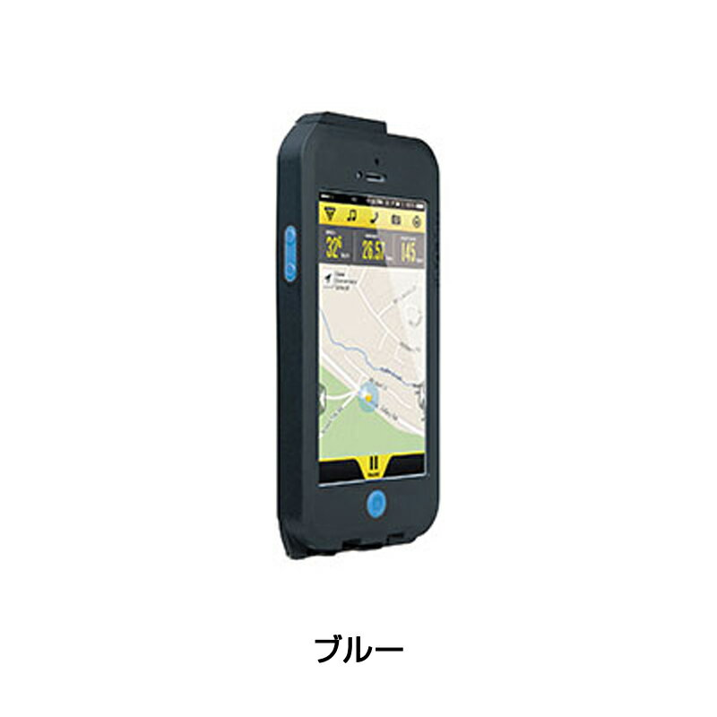 【iPhone 5/5S/SE対応】TOPEAK(トピーク) Weatherproof RideCase (ウェザープルーフ ライドケース)セット【アイフォン 5/5S/SE用】