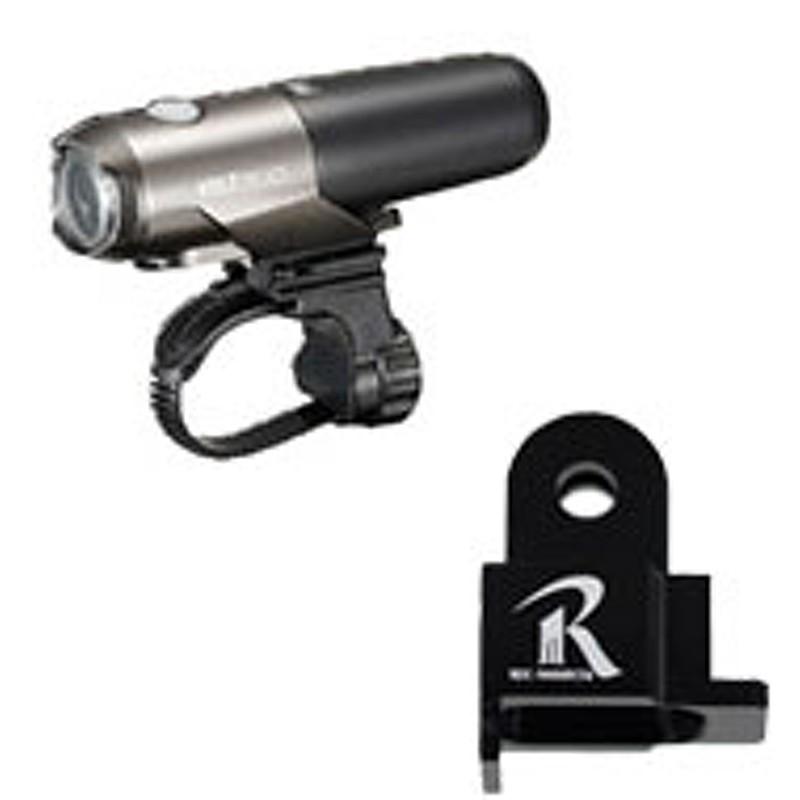 【レックマウントにキャットアイのライトを取り付けるのに必要】REC-MOUNTS(レックマウント)for CATEYE type2(ライトアダプター キャットアイ用 タイプ2)[GP-CATHL2]
