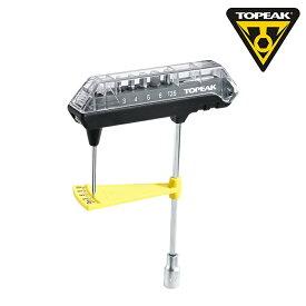 《即納》【土日祝もあす楽】TOPEAK(トピーク) ComboTorq Wrench & Bit Set (コンボトルク レンチ & ビット セット) [工具] [メンテナンス] [ロードバイク] [六角レンチ]