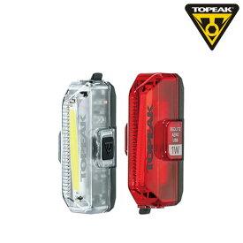 TOPEAK(トピーク) AERO USB 1W COMBO (エアロUSB 1Wコンボ)[USB充電式][ヘッドライト]