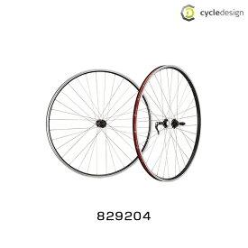 """cycledesign(サイクルデザイン) FRONTWHEEL(フロントホイール) 26""""リムブレーキ(829204)前用のみ[XC用(チューブレス非対応)][26インチ][MTB用]"""