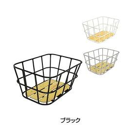 《即納》【土日祝もあす楽】GIZA(ギザ) AL-NR01 ウッドボトムリアバスケット [カゴ] [かご] [クロスバイク] [リアバスケット]