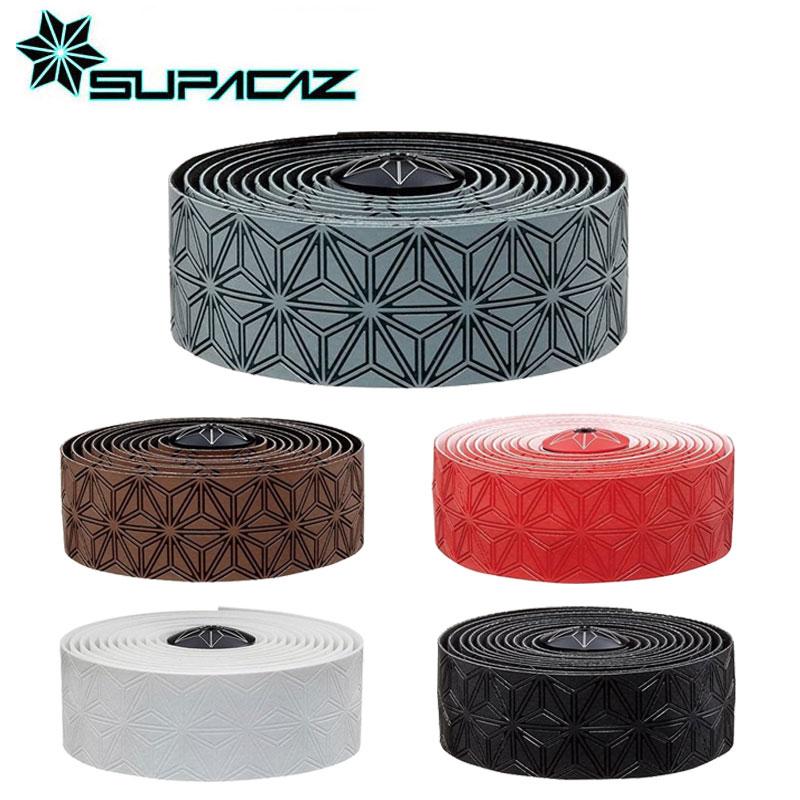 《即納》SUPACAZ(スパカズ) SUPER STICKY KUSH single color (スーパースティッククッシュシングルカラー)[バーテープ][ハンドル・ステム・ヘッド]