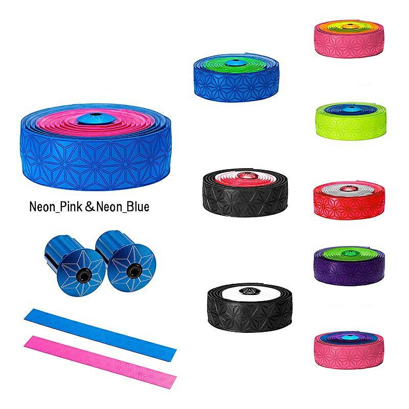 SUPACAZ(スパカズ) SUPER STICKY KUSH Multi-Colored (スーパースティッククッシュマルチカラー)[バーテープ][ハンドル・ステム・ヘッド]