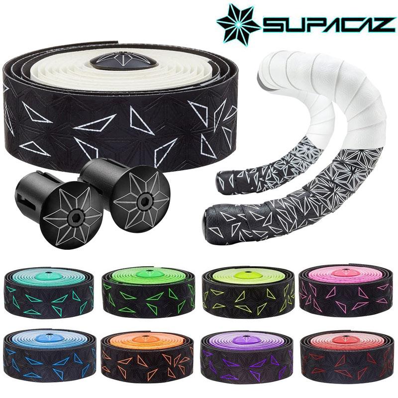 《即納》【あす楽】SUPACAZ(スパカズ) SUPER STICKY KUSH Starfade (スーパースティッククッシュスターフェイド)[バーテープ][ハンドル・ステム・ヘッド]