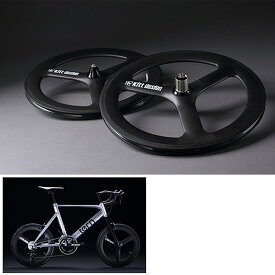 《即納》【土日祝もあす楽】TERN(ターン) Kitt design CarbonTri-spoke F-Wheel(カーボンバトンホイール フロント用)