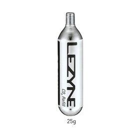 LEZYNE(レザイン) CO2 CARTRIDGE 25G 5PCS (CO2カートリッジ25G 5PCS) [空気入れ] [ポンプヘッド] [カートリッジ]