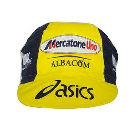 apis(アピス) CAP MERCATONE UNO-ASICS (アシックス-メラカトーネ・ウーノキャップ)[キャップ・バンダナ・スカルキャップ][ウェアアクセサリ]