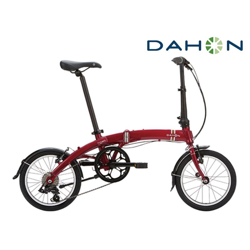 《在庫あり》DAHON(ダホン、ダホーン) 2018年モデル CURVE D7 (カーブ D7)[コンフォート][ミニベロ/折りたたみ自転車]
