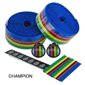 Cinelli(チネリ) バーテープ CHAMPION (チャンピオン) [バーテープ] [ロードバイク] [ハンドル] [ドロップハンドル]