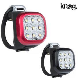 ノグ BLINDER MINI NINER (ブラインダーミニナイナー) LEDライト フロント 充電式 20ルーメン knog セーフティライト フロント
