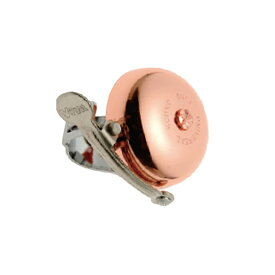 ViVA(ビバ) Aヘッド真鍮銅メッキ サウンドベル OS [ベル] [ロードバイク] [クロスバイク]